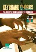 Keyboard Chords Deluxe Full Color Photos & Diagrams for Over 900 Chords