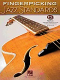 Fingerpicking Jazz Standards: Jazz Guitar Chord Melody Solos Cover