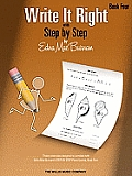 Write It Right with Step by Step, Book Four