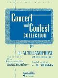 Concert and Contest Collections: Eb Alto Sax - Piano Accompaniment