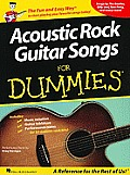 Acoustic Rock Guitar Songs for Dummies Cover