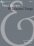 Ned Rorem - 10 Selected Songs: High Voice with a CD of Piano Accompaniment