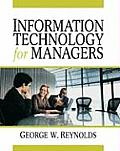 Information Technology for Managers (10 - Old Edition)