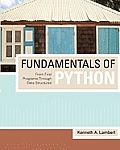 Fundamentals of Python: From First Programs Through Data Structures (10 Edition)