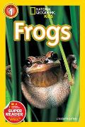 Frogs! (National Geographic Readers) Cover