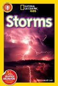 National Geographic Readers: Storms! (National Geographic Kids: Science Reader - Level 1)