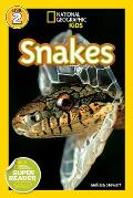 National Geographic Readers: Snakes! (National Geographic Kids: Science Reader - Level 2) Cover