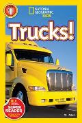 Trucks! (National Geographic Kids: Science Reader - Level 1)