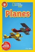 Planes (National Geographic Readers) Cover