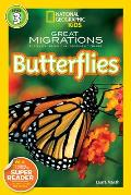 Great Migrations: Butterflies (National Geographic Readers) Cover