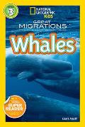 Great Migrations: Whales (National Geographic Readers) Cover