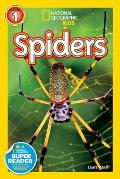 Spiders (National Geographic Readers) Cover