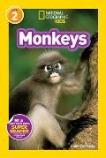 Monkeys (National Geographic Kids Super Readers: Level 2)