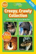 Creepy, Crawly Collection, Levels 1 & 2 (National Geographic Kids) Cover