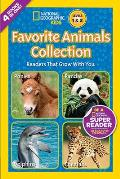 National Geographic Readers Favorite Animals Collection