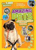 Amazing Pets Sticker Activity Book (National Geographic Kids)