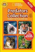 National Geographic Readers: Predators Collection: Readers That Grow with You (Readers) Cover