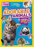 National Geographic Kids Adorable Animals Super Sticker Activity Book 2000 Stickers