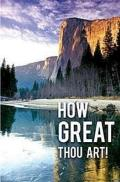 How Great Thou Art Bulletin, Regular Size (Package of 50)