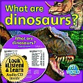 What Are Dinosaurs? - CD + PB Book - Package (My World)