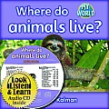 Where Do Animals Live? - CD + PB Book - Package (My World)