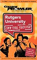 Rutgers New Brunswick (College Prowler: Rutgers New Brunswick Off the Record)
