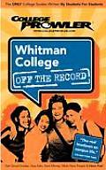 Whitman College Wa 2007
