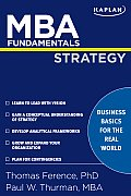 Mba Fundamentals Strategy (09 Edition)