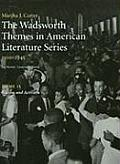 The Wadsworth Themes in American Literature Series, 1910-1945: Theme 15: Racism and Activism