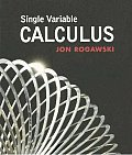 Single Variable Calculus (Paper)
