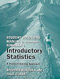 Introductory Statistics- Student Solution Manual (11 Edition)