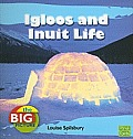 Igloos and Inuit Life (Big Picture: Homes) Cover