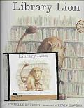 Library Lion [With Book]