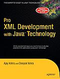 Pro XML Development with Java Technology
