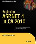 Beginning Asp. Net 4.0 in C++ 2010 (10 Edition)