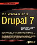 The Definitive Guide to Drupal 7 Cover