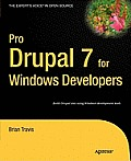 Pro Drupal 7 for Windows Developers Cover