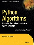 Python Algorithms: Mastering Basic Algorithms in the Python Language Cover
