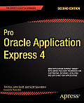 Pro Oracle Application Express 4 Cover
