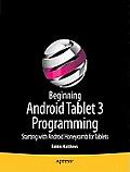 Beginning Android Tablet...