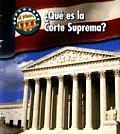 Mi Primera Gu-A Acera del Gobierno (First Guide To Governmen #1: Qu' Es la Corte Suprema? / What's the Supreme Court?