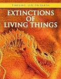Timeline: Life on Earth #1: Extinctions of Living Things Cover