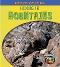 Hiding in Mountains (Large Print) (Creature Camouflage) Cover