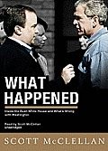 What Happened: Inside the Bush White House and Washington's Culture of Deception [With Earbuds]