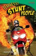 Fearless! Stunt People (Time for Kids Nonfiction Readers) Cover