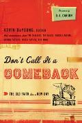 Don't Call It a Comeback: The Old Faith for a New Day (Gospel Coalition the Gospel Coalition)