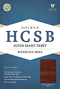 Super Giant Print Reference Bible-HCSB