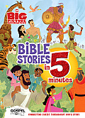 The Big Picture Interactive Bible Stories in 5 Minutes, Padded Cover: Connecting Christ Throughout God's Story (Gospel Project)