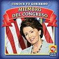 Miembro del Congreso (Member of Congress) (Conoce Tu Gobierno)