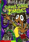 Secret of the Summer School Zombies (Graphic Sparks Graphic Novels) Cover